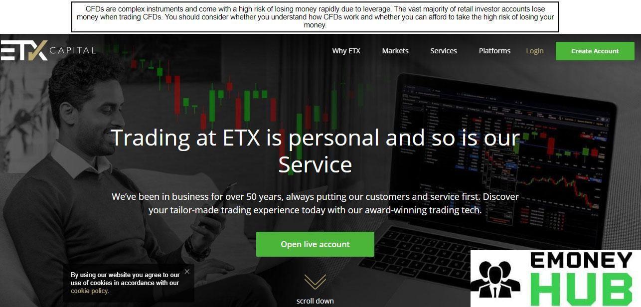 Изображение 1 - ETX Сapital